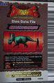Chasmosaurus Card Eng S1 3rd back