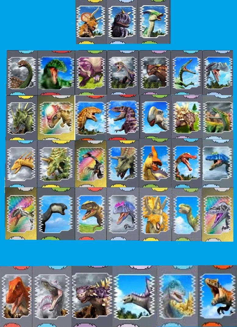 User blog holasoyrichard las cartas de todos los dinosaurios dinosaur king fandom powered by - Carte dinosaure king ...