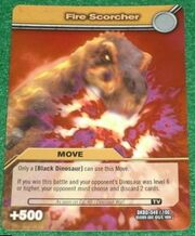 Fire Scorcher TCG Card (German)