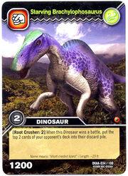 Brachylophosaurus-Starving TCG Card