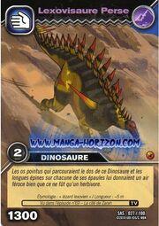 Lexovisaurus-Persian TCG Card (French)