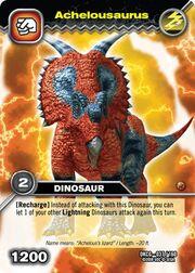 Achelousaurus TCG card