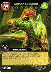 Corythosaurus TCG card