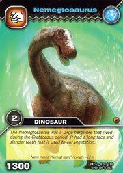 Nemegtosaurus TCG card