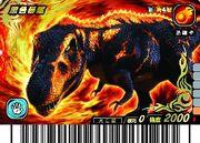 Black Tyrannosaurus card