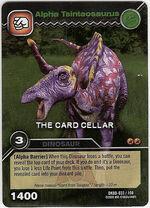 Tsintaosaurus Alpha TCG Card