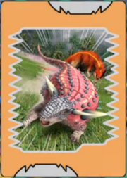 Pawpawsaurus Anime Card