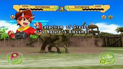 All Super Moves Dinosaur King Arcade (English)