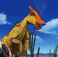 Saurolophus (orange-crested) 3