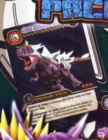 Carnotaurus - Ace DinoTector TCG Card 5-PP1-Colossal (French)