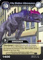 Allosaurus-City Stalker TCG Card
