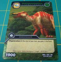 Prosaurolophus TCG Card 1-Silver (French)