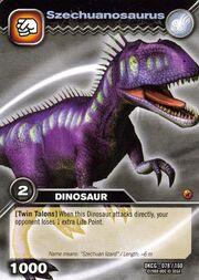 Szechuanosaurus TCG card