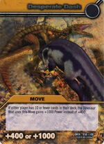 Desparate Charge TCG Card (French)