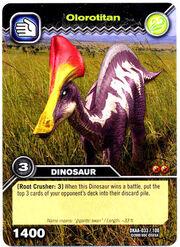 Olorotitan TCG card