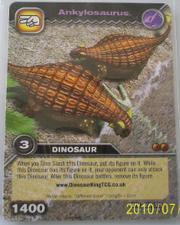 Ankylosaurus TCG Card 2