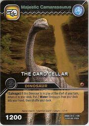 Camarasaurus-Majestic TCG Card