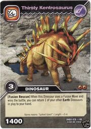 Kentrosaurus-Thirsty TCG Card