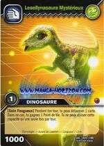 Leaellynasaura-Mysterious TCG Card (French)
