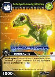 Leaellynasaura-Mysterious TCG Card (French)