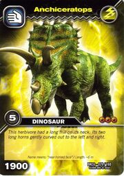 Anchiceratops TCG Card