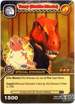 Tyrannosaurus - Terry Battle Mode TCG Card 2-DKAA-Gold