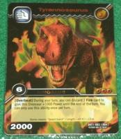 Tyrannosaurus TCG Card 3-Colossal