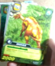 DKJC Lanzhousaurus TCG card
