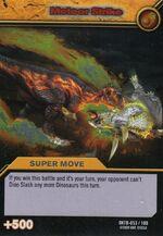 Meteor Strike TCG Card 1-Silver