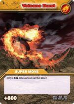 Volcano Burst TCG Card