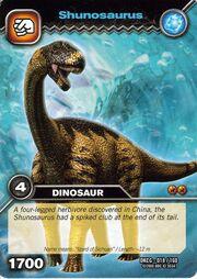 Shunosaurus TCG