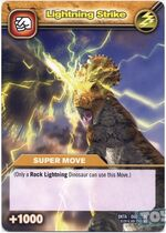 Lightning Strike TCG Card 2 (French)