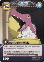 Spinosaurus - Spiny TCG Card 3-DKBD