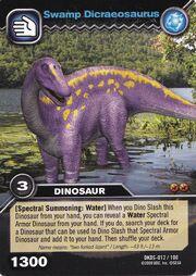 Dicraeosaurus-Swamp TCG Card (German)