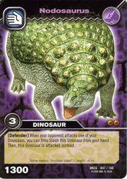 Nodosaurus TCG card