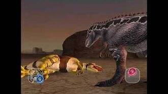 Dinosaur King Awaken - Megalosaurus - Easy Mode (Japanese)