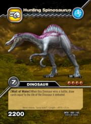 Hunting Spinosaurus