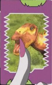 Lanzhousaurus (Spectral Armor) card