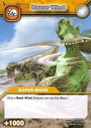 Razor Wind TCG Card 1