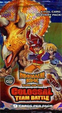 Dinosaur King TCG  Series 2 Colossal Team Battle Colossal Rares