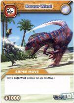 Razor Wind TCG Card 2 (French)