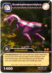 Eustreptospondylus TCG card