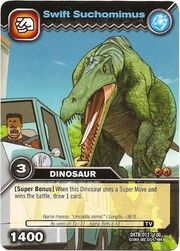 Suchomimus-Swift TCG Card (German)