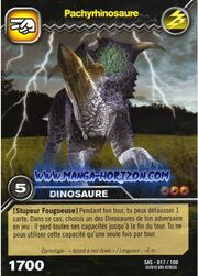 Pachyrhinosaurus TCG Card 2 (French)