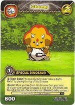 Triceratops - Chomp TCG Card 3-DKAA