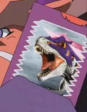 Gigas card anime