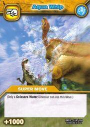 Aqua Whip TCG Card 1