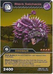 Saichania Black TCG Card (foreign)
