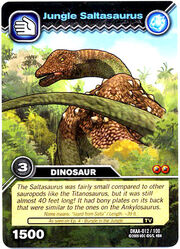 Saltasaurus-Jungle TCG Card