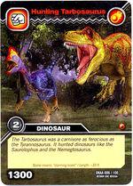 Tarbosaurus-Hunting TCG Card